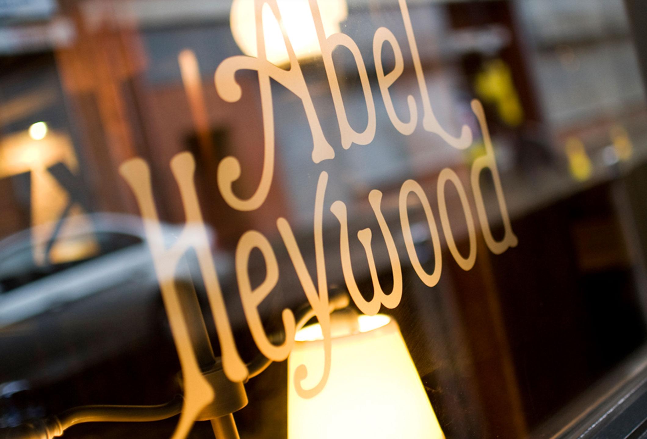 abel heywood sign