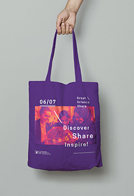 great science share bag