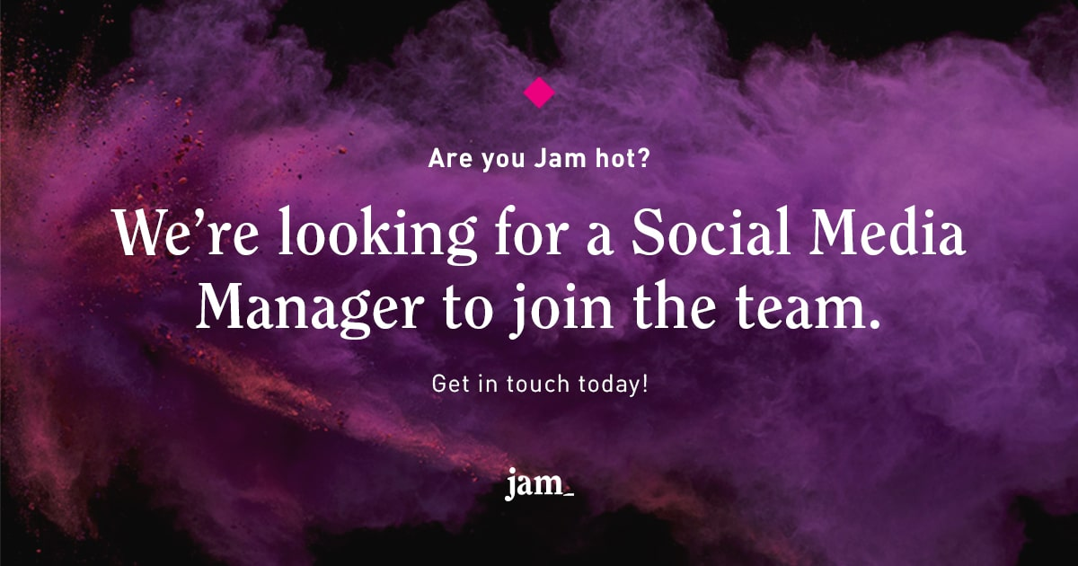 social media manager job