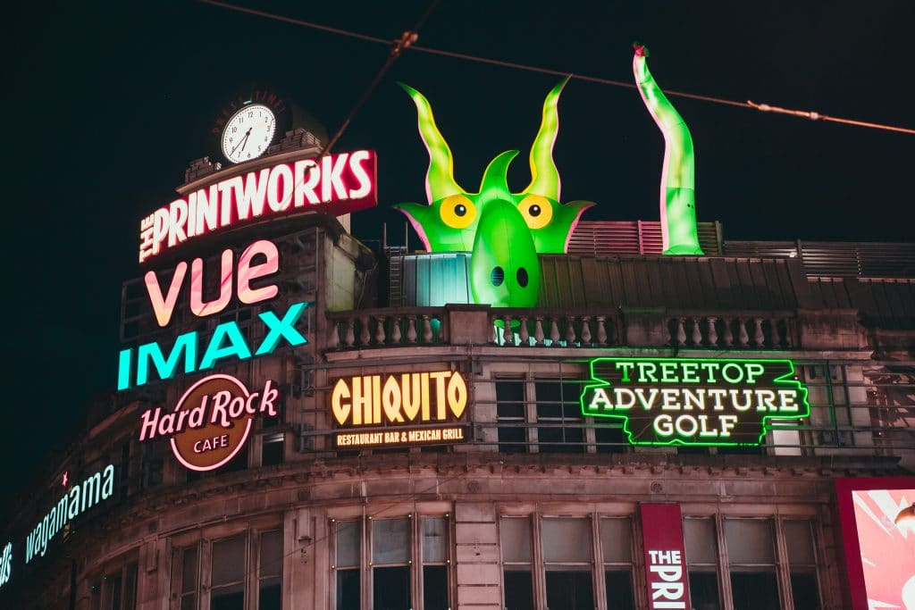 Halloween in the city printworks